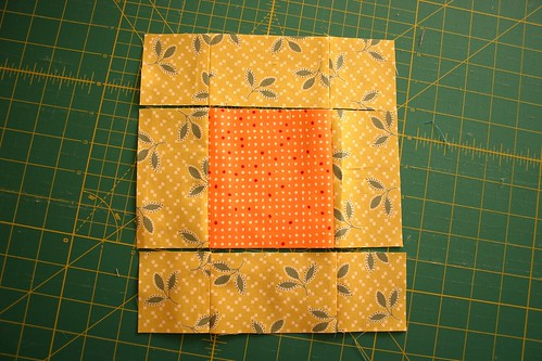 Piecing the outer ring