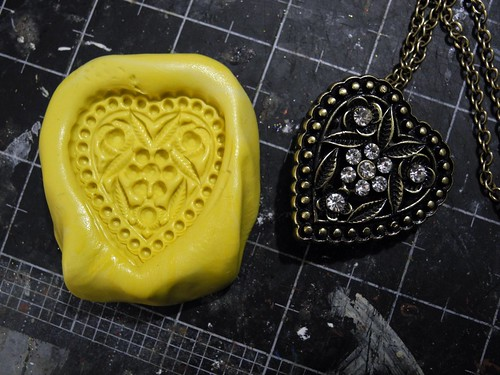 Love Cast in Clay mold