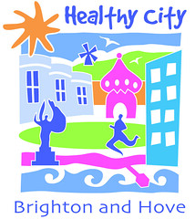 logo, Healthy City Brighton and Hove, UK (via activeeurope.com)