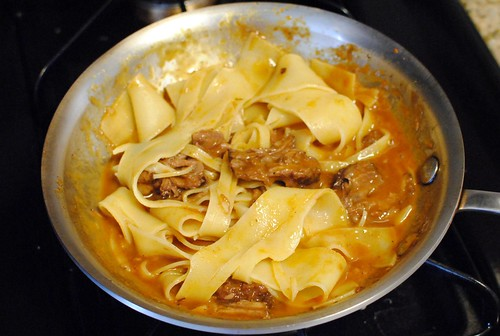 6682915817 f1eaf35f96 Pappardelle with Oxtail Ragu
