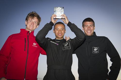 3 GT Academy winners
