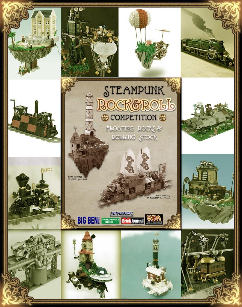Steampunk Rock & Roll Finalists!