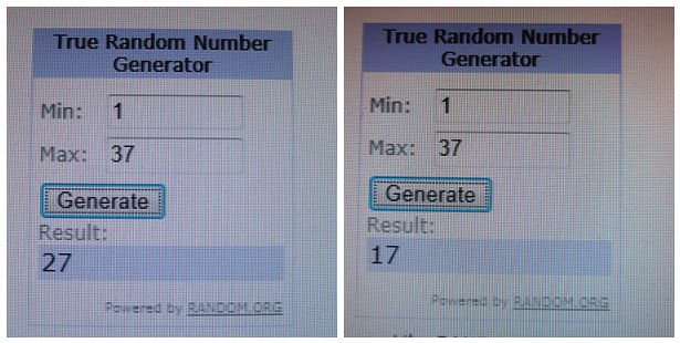 100 followers random number winners