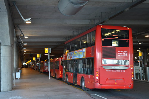 London bus from Heathrow