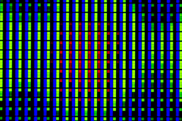how to fix pixel lines on tv