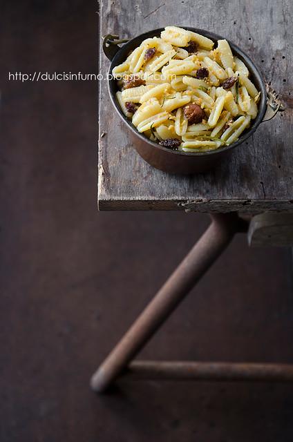 Gnocchi al Rosmarino e Panettone al Fico Dottato-Fig Dottato Panettone and Rosemary Pasta