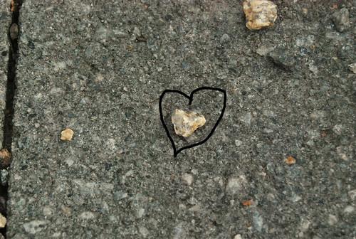 Heart-Shaped Pebble