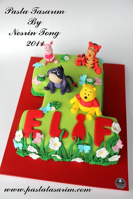 1st birdhday cake - ELIF