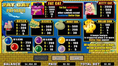 free Fat Cat slot mini symbol