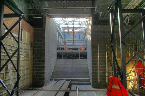 Escalator box
