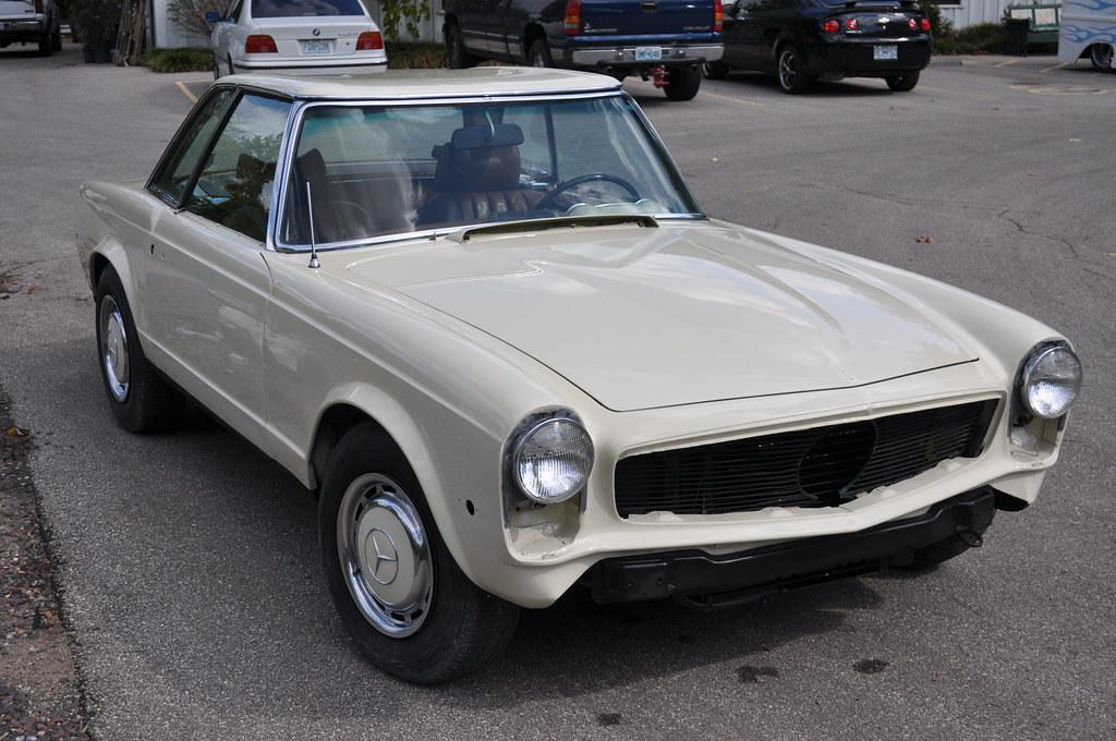 1970 mercedes 280 sl clean cut creations vintage auto works. Black Bedroom Furniture Sets. Home Design Ideas