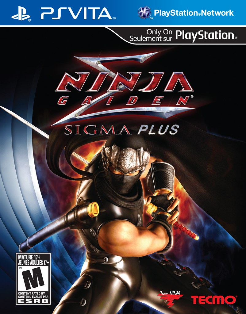 Ninja Gaiden Sigma Plus Box Art