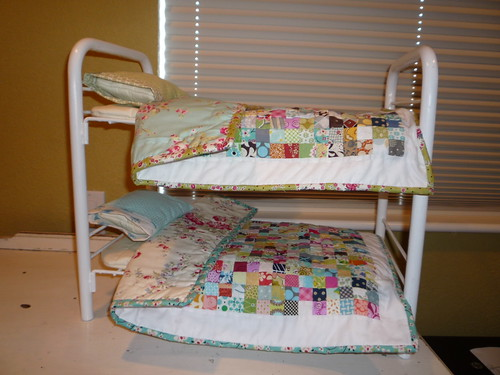 2 quilts for 2 dolls by kristinemhanson