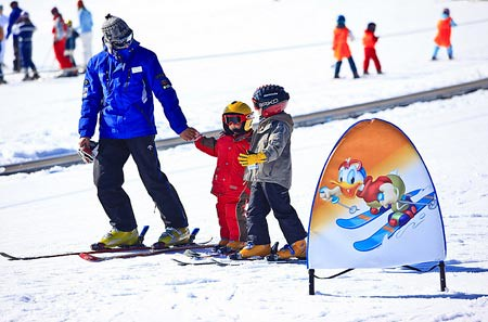 Esquí infantil en Grandvalira