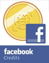 Facebook credits logo