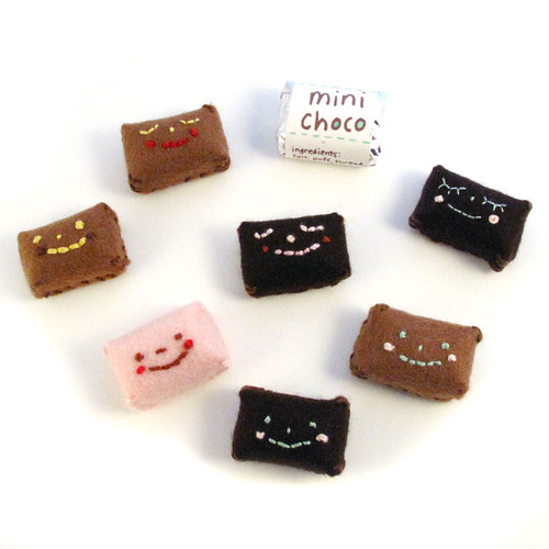Mini Choco Plush candies.