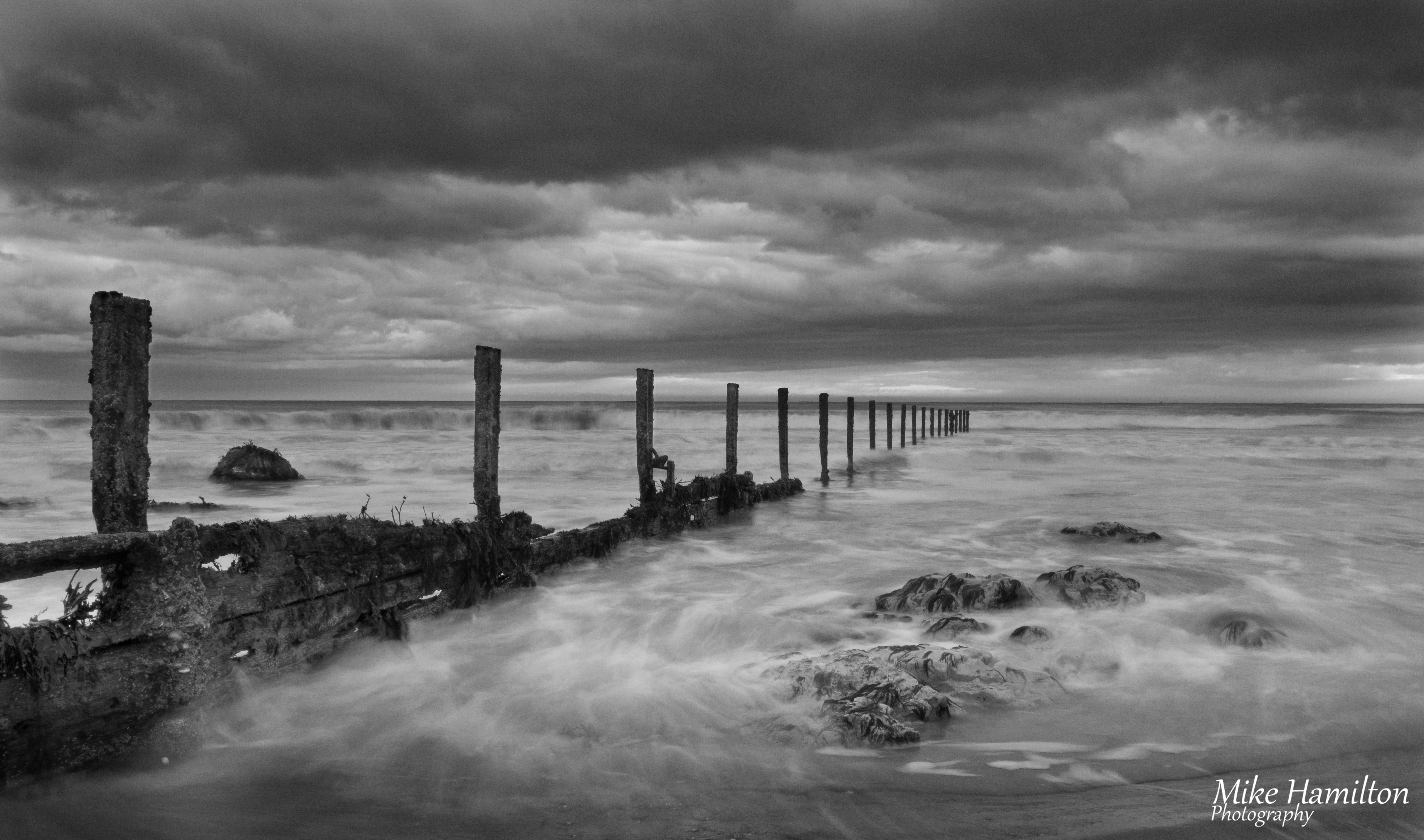 to wear - Landscape Beach photography black and white video