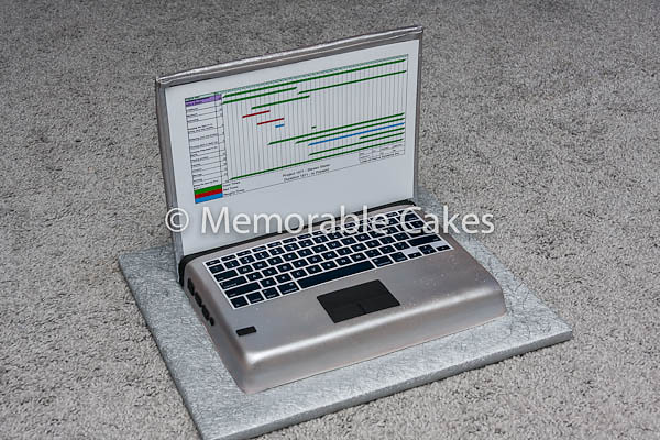Project Laptop Cake. Flickr - Photo Sharing!