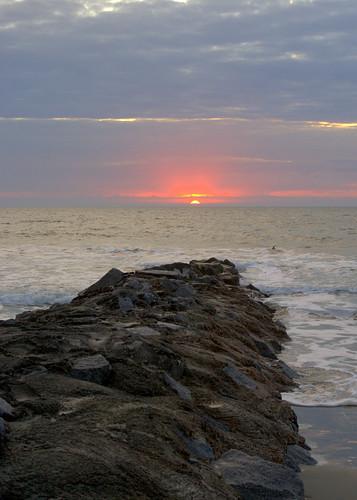 beach sc sunrise dawn day pentax cloudy pawleys pentaxkx smcpda40mmf28 justpentax