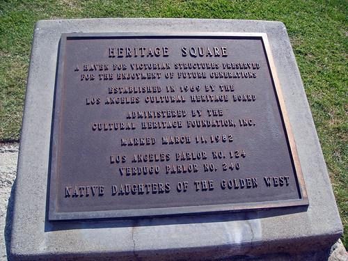 01 Heritage Square Museum - Plaque (E)