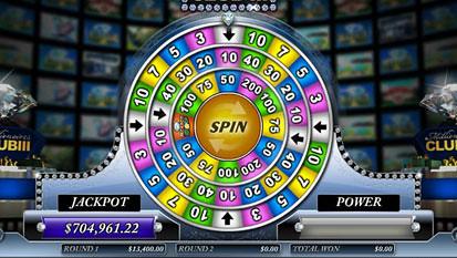 Millionaires Club 3 Slots Jackpot Round