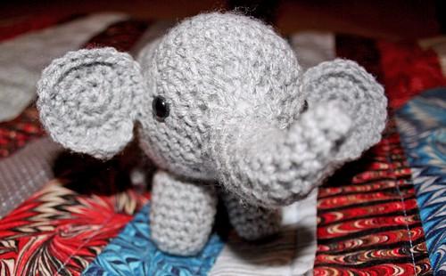 Elephant Amigurumi 1
