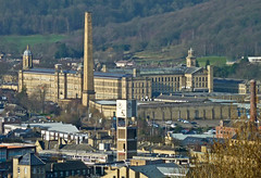 Shipley and Saltaire, from Wrose by Tim Green aka atoach