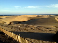 Gran Canaria - Maspalomes Dunes in the Winter - Sunset