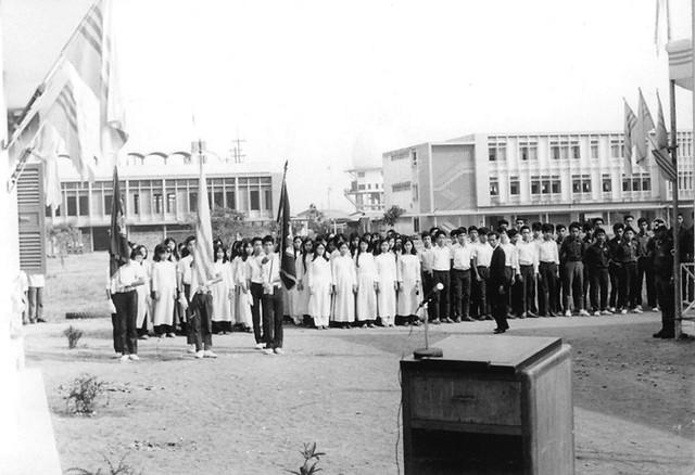 Lễ khánh thành Thư viện trường Quốc Gia Nghĩa Tử SG - 17 Mar 1971