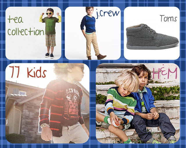 {Top 5} Clothing Stores for Boys Top 5 TOMS tea collection j.crew h&m boys apparel 77kids