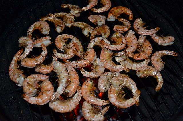 Grilled Shrimp with Cilantro, Lime & Pistachios
