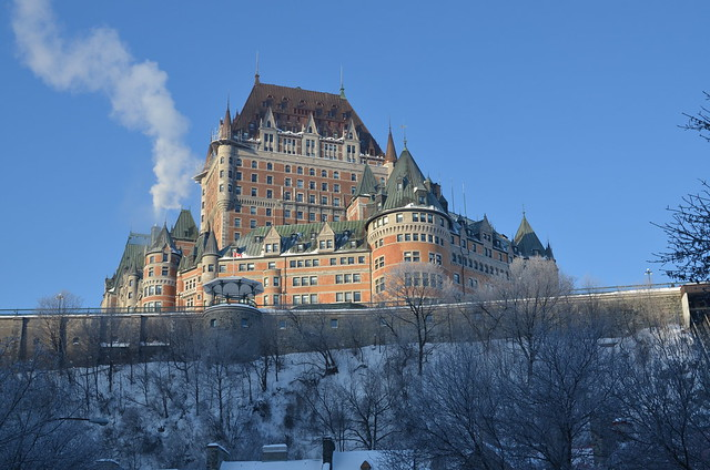 Château Frontenac by CC user lukar14 on Flickr