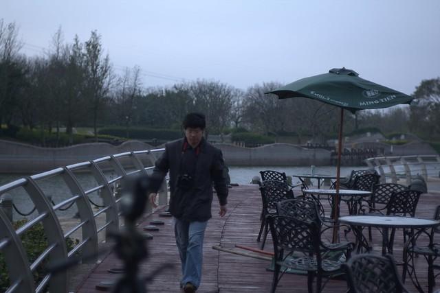 101龍年初三,ILI小姐外拍活動in台中都會公園