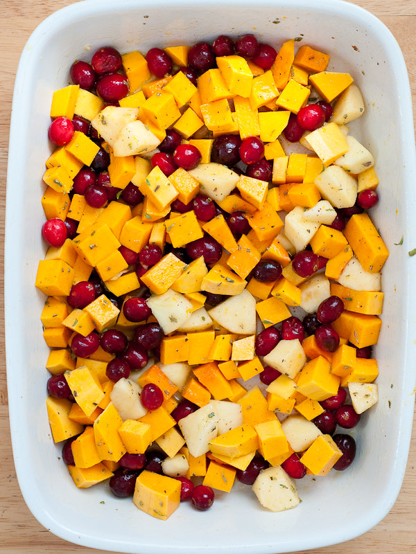 Butternut Squash, Cranberry and Apple Bake | Cafe Johnsonia
