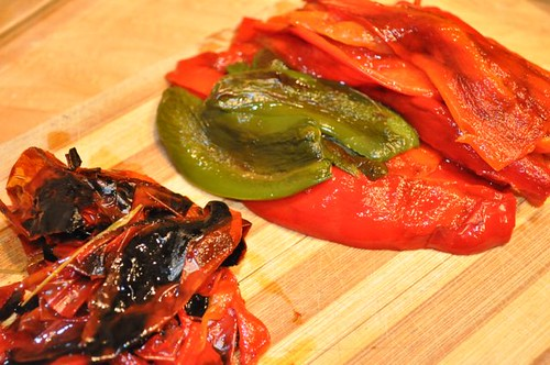 salsa roasted/peeled peppers