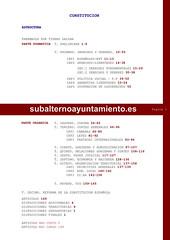Estructura constitución