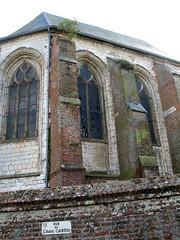 Friville-Escarbotin (église St-Etienne) choeur côté Nord 8168