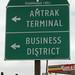 Osceola wayfinding sign