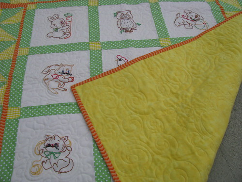Heirloom Quilt Back