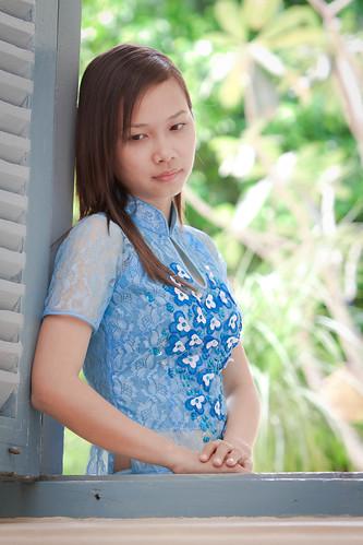 無料写真素材, 人物, 女性  アジア, ベトナム人, アオザイ