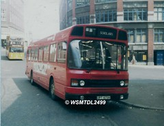 4673  UPT 673V  Leyland National MK 2. Worswick Street Bus Station NEWCASTLE UPON TYNE