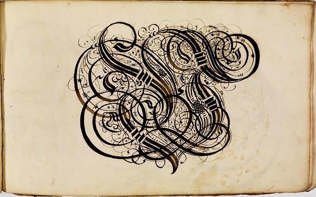 Kalligraphische Schriftvorlagen von Johann Hering zu Kulmbach - Johann Hering 1624-1634 (Bamberg) d