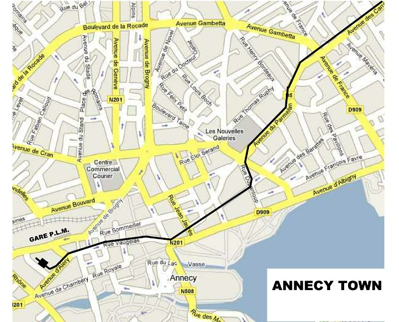 MAP ANNECY 1
