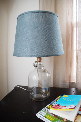Perfect How To Make a Glass Jug Lamp - DIYdiva ID73