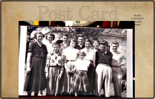 My Mothers Family    abt 1951