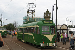 Tram 623.  Tram Sunday FLEETWOOD
