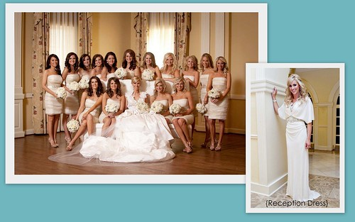 Bridesmaids' Style: White Dresses by Nina Renee Designs