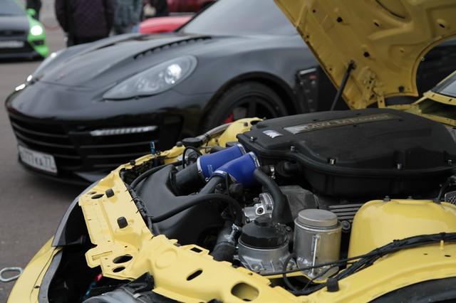 S62B50 E39 M5 Engine | 1999 M Coupe | Dakar Yellow | Gray/Black