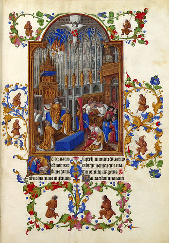 009-Très Riches Heures du duc de Berry -MS 65 F158R-Creditos-Wikimedia Commons user Petrusbarbygere