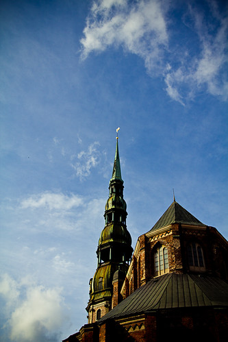Retro della chiesa di San Peter